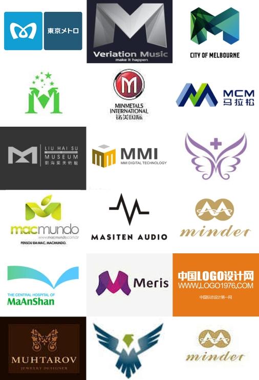【m】→开头标志设计欣赏图片