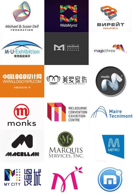 【m】→开头标志设计欣赏